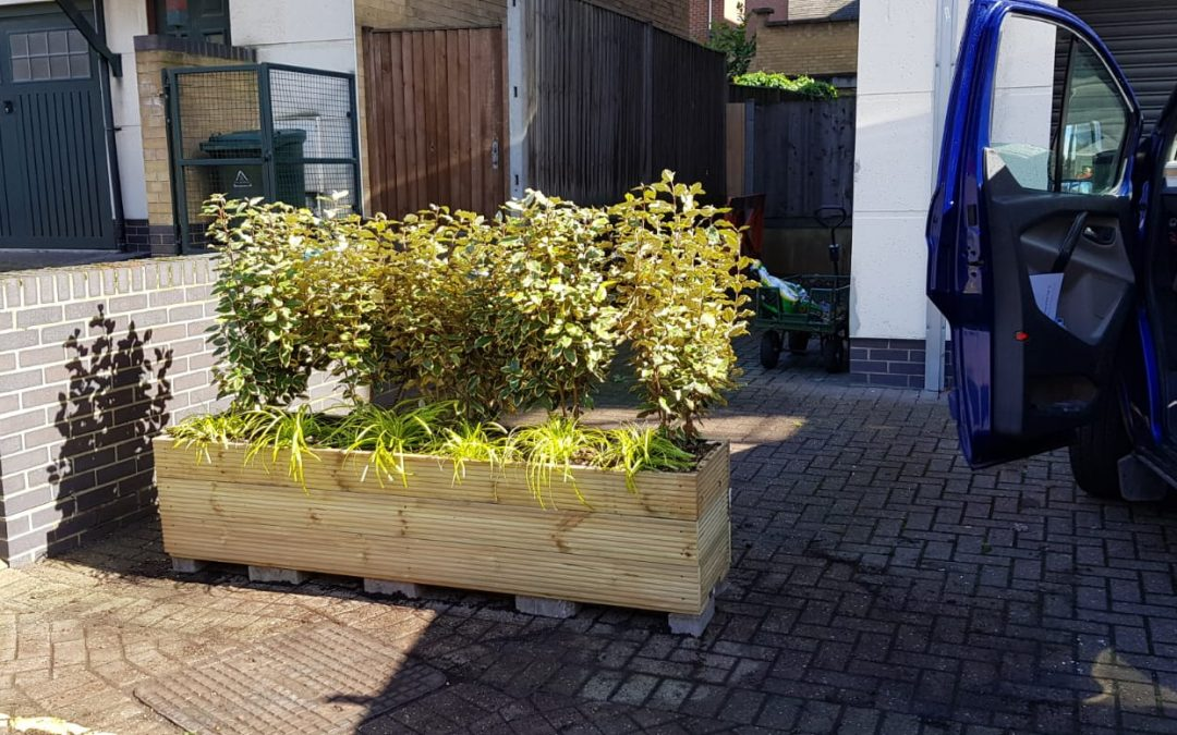 Custom Built Planter